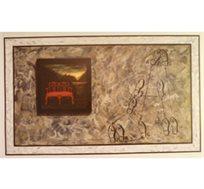 """""""ריקוד טנגו"""" - ציורו של פיצ'חדזה מאיר, הדפס בגודל 64X86 ס""""מ"""