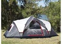 אוהל ענק ל-6 אנשים מבית Lightspeed Outdoors. נבנה במהירות רבה וללא מאמץ!