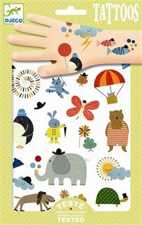 קעקועים - חיות פיל - Djeco