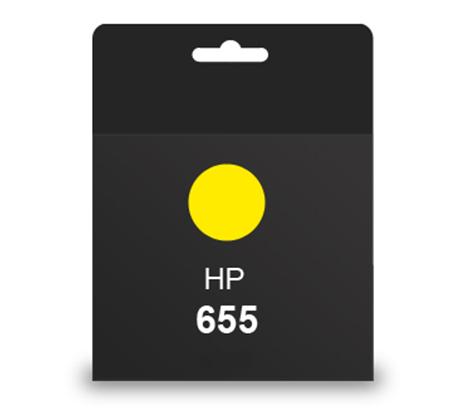 ראש דיו מקורי HP 655 צהוב