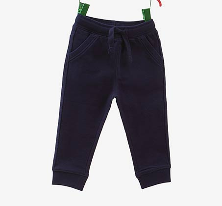 מכנסי PANT IN FRENCH TERRY OVS לפעוטות - כחול