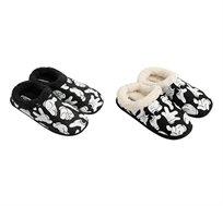 2 זוגות נעלי בית פרוותיות לנשים בדוגמאת מיקי מאוס
