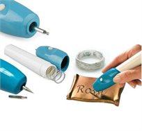 פתרון מדהים! עט חריטה אלקטרוני לסימון פריטים יקרי ערך, מתנות, או כל חפץ אישי