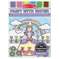 חוברת צביעה עם מים נסיכות - Melissa & Doug