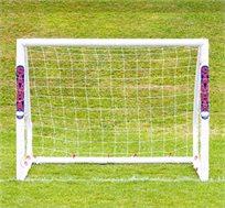 שער כדורגל מקצועי SAMBA כולל רשת עשוי מוטות UPVC