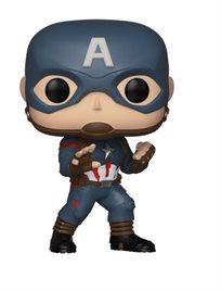 Funko Pop - Captain America (Avengers Endgame ) 464  בובת פופ הנוקמים החדש