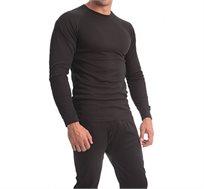 סט ביגוד תרמי מכנס + חולצה המעניק בידוד מפני הקור ותחושת חום לאורך זמן לנשים וגברים