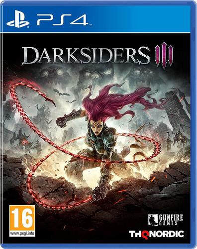 Darksiders Iii 3 Ps4 אירופאי!