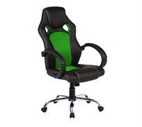 כיסא מנהלים אורתופדי עשוי דמוי עור עם מבנה אורגמי המקנה תמיכה לכל הגוף דגם C588