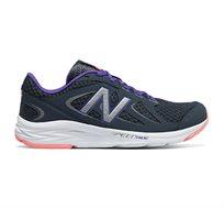 נעלי ריצה מקצועיות לנשים NEW BALANCE דגם W490CA4  - שחור/סגול