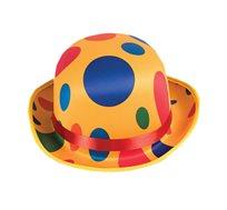 כובע דרבי מנוקד לליצן