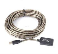 כבל מאריך USB אקטיבי  באורך 10 מטר