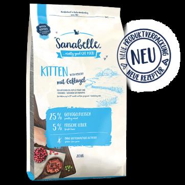 מזון לגורי חתולים סנבל 4 ק''ג Sanabelle
