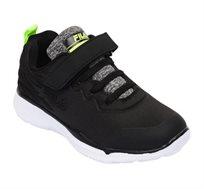 נעלי ספורט לילדים FILA דגם Muki - שחור וירוק נאון