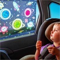 צלון בועות אור להצללת חלון הרכב