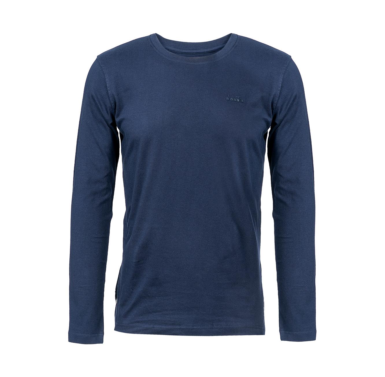 חולצת טישירט שרוולים ארוכים לגברים DIADORA דגם 9165100 - צבע לבחירה