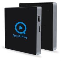 סטרימר אנדרואיד TVBOX Q2 עם מעבד חדש חזק ונגן KODI פתוח זיכרון 2G\16G  אלחוטי וחוטי עם שלט