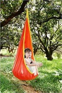 ערסל תליה מעוצב לילדים, הכולל כרית לישיבה נוחה ונדנוד במגוון צבעים  - משלוח חינם!