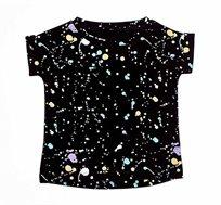 חולצה טי שירט Splashing לתינוק יוניסקס בשני צבעים לבחירה