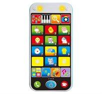 הטלפון החכם הראשון שלי משחק המעודד שלבים ראשונים של משחק תפקידים ופיתוח שיחה