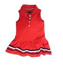 TOMMY HILFIGER שמלה (3 שנים) אדומה