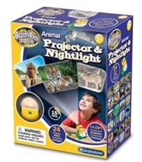 מנורת לילה ומקרן בעלי חיים