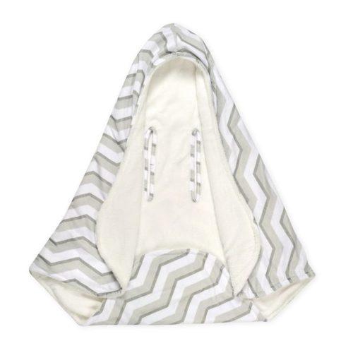 שמיכה רכה עם כובע לסלקל / עגלה - תמונה 4