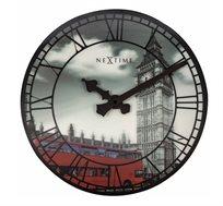 שעון קיר הולוגרמה לונדון תלת מימד
