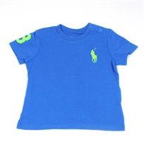 Ralph Laurem / ראלף לורן (3 חודשים) חולצה טישרט סוס גדול  - כחול