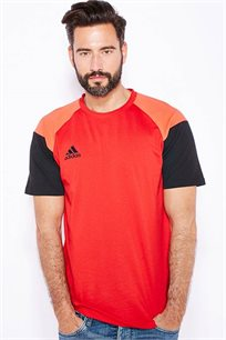 חולצת ספורט לגברים Condivo 16 - אדום/שחור