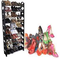 שומרים על הסדר! מעמד נעליים SHOE RACK איכותי ויציב לשמירה על נעליים מושלמות בכל השנה החל מ-₪39!