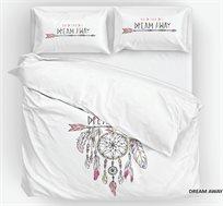 סט מצעים זוגי מכותנה Nicoletti דגם Dream Away