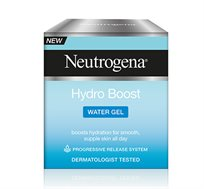 ג'ל לחות במרקם מים לפנים HYDRO BOOST להענקת לחות לעור חלק וגמיש Neutrogena