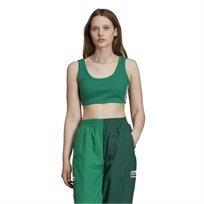 טופ לנשים אדידס - Tape Sports Bra ירוק
