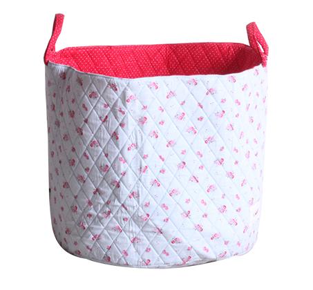 סל אחסון גדול ומעוצב לאחסון מגוון דברי תינוקות מבית 'Minene' במגוון צבעים לבחירה - תמונה 6