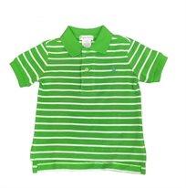 RALPH LAUREN /  חולצת פולו (12-9 חודשים)- ירוק פסים