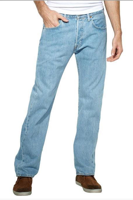 ג'ינס Levis 501-0113 לגבר - כחול בהיר