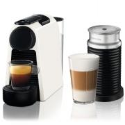 מכונת Nespresso אסנזה מיני בצבע לבן דגם D30 כולל מקציף חלב ארוצ'ינו
