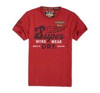 טישרט Premium Work Wear לגברים - אדום
