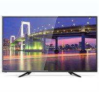 """טלוויזיה 55"""" LED FULL HD כניסת USB MKV ו-2 כניסות HDMI כולל תפריט בעברית NEON דגם NE-55FLED"""