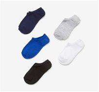 מארז 5 זוגות גרביים קצרים לילדים