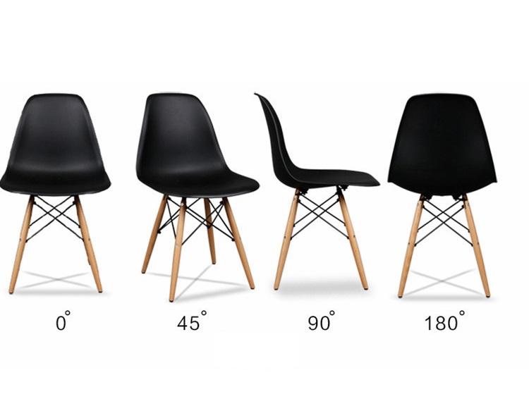 פינת אוכל מודרנית וצעירה בשני צבעים לבחירה וארבעה כיסאות במגוון צבעים - תמונה 6