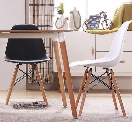 פינת אוכל מודרנית וצעירה בשני צבעים לבחירה וארבעה כיסאות במגוון צבעים - תמונה 4