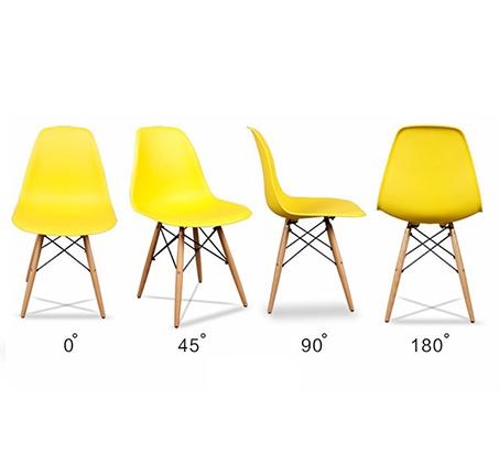 פינת אוכל מודרנית וצעירה בשני צבעים לבחירה וארבעה כיסאות במגוון צבעים - תמונה 9