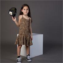 שמלת ORO לילדות (מידות 3-7 שנים) מנומר
