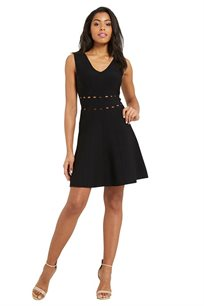 שמלה MORGAN - סריגה עדינה - צבע לבחירה