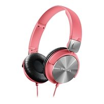 """אוזניות בסגנון DJ עם רמקול 32 מ""""מ Philips SHL3160PK"""
