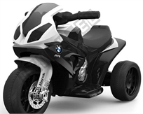 אופנוע מיני 6V לילדים בדמות Bmw Rr1000 - שחור Twist