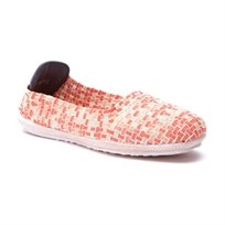 Rock Spring Lake Alberta - נעלי בובה רוק ספרינג קלועות בצבע כתום