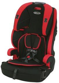 כסא בטיחות ובוסטר טרנזישן 3 ב 1 Tranzitions בשחור/אדום